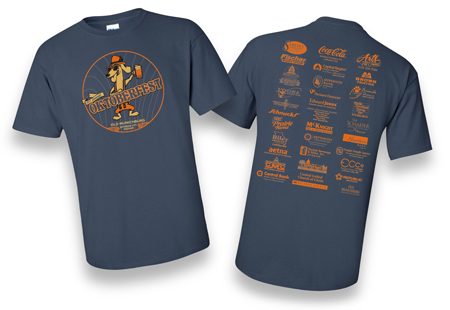 t-shirt design for Oktoberfest 2015