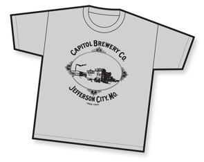 Capitol Brewery Co. t-shirt design