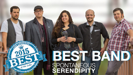 image of Spontaneous Serendipity band