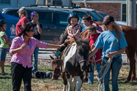 Kids activities included pony rides at Oktoberfest 2015!