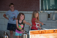 The Jefferson City Fire Department sponsored a fun water game for kids at Oktoberfest 2015.